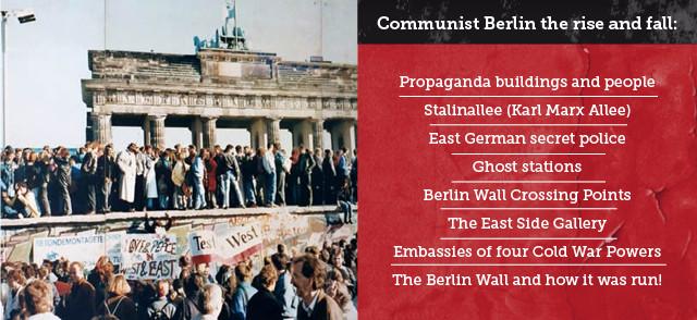 Berlin Educational School Tours Communist Berlin Rise and fall