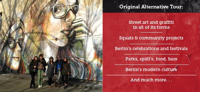 Berlin Educational School Tours Street Art Alternative Tour
