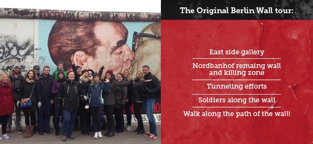 Berlin Educational School Tours berlin wall
