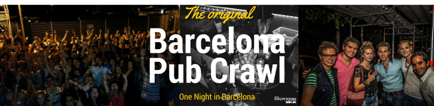 Pub Crawl Barcelona