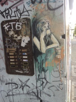 Alice Pasquini and the streets of Berlin