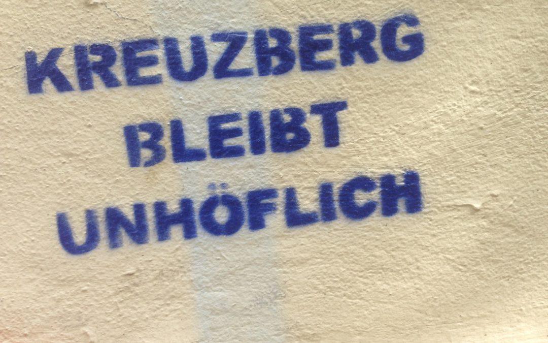 Gentrification killing Kreuzberg