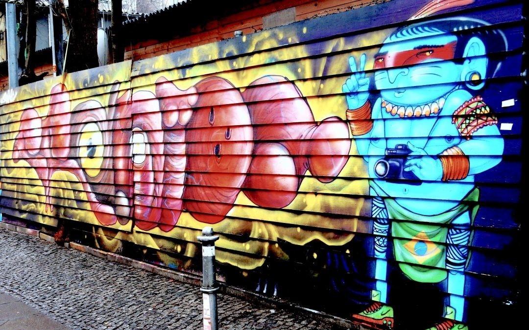 Trading street art for advertising