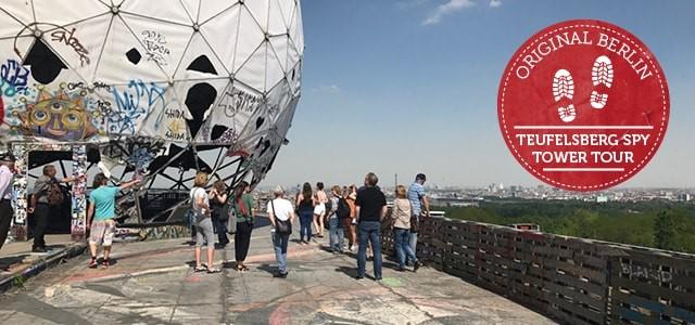 Bild Original Berlin Teufelsberg Spy Tower Group Tour